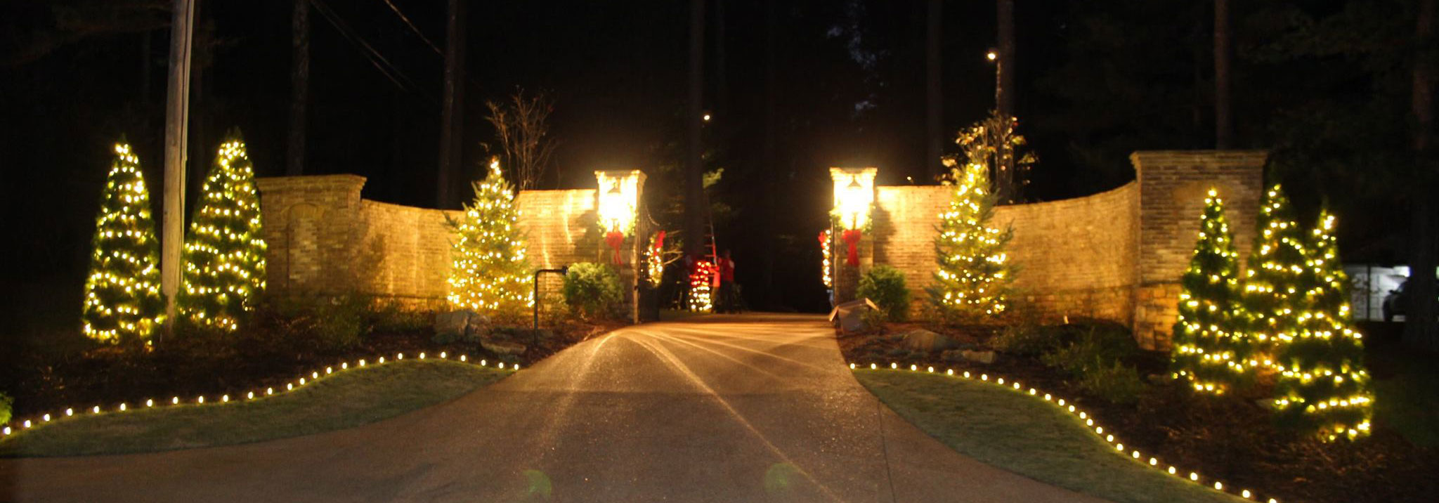 Christmas Light Installation for Gated Communities