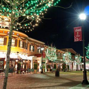 CHRISTMAS LIGHT INSTALLATION FOR SHOPPING CENTERS